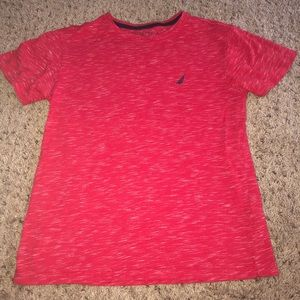 Boy nautica shirt medium